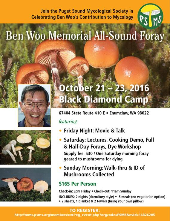 Ben Woo memorial Foray